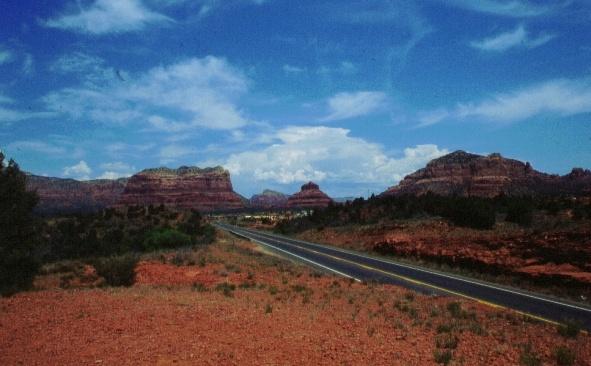 Sedona Arizona view from South