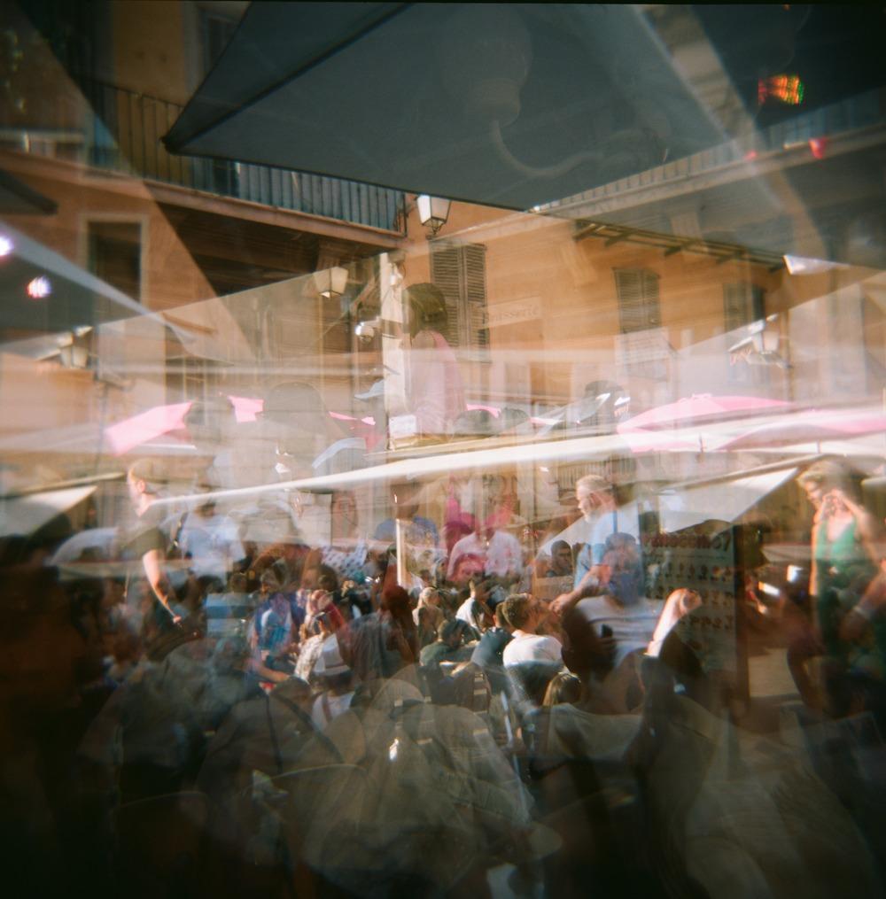 Sidewalk Cafes' in Nice