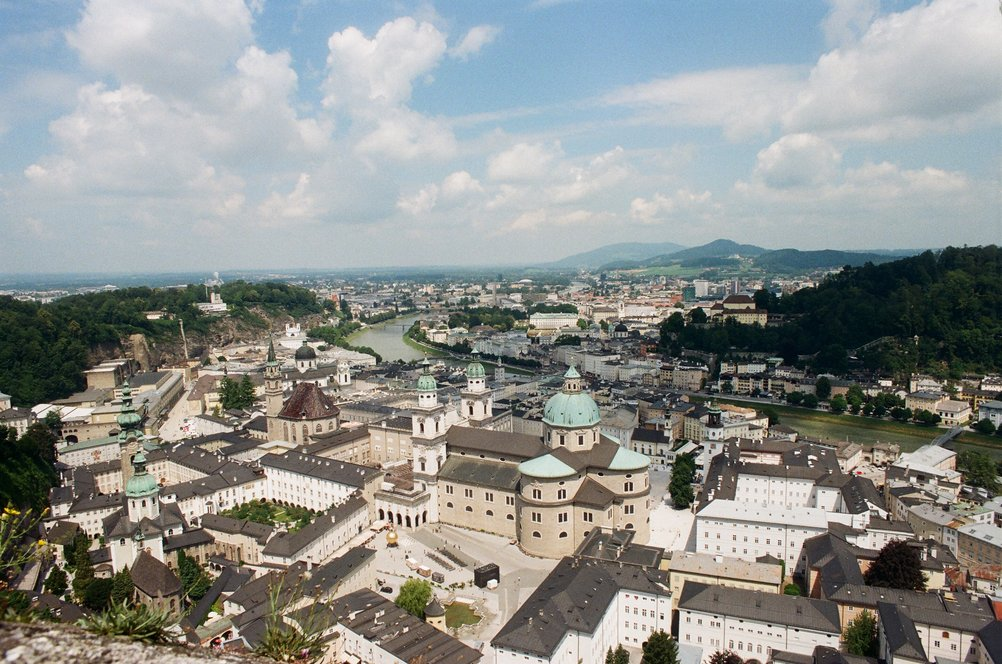 From the Castle in Salzbug