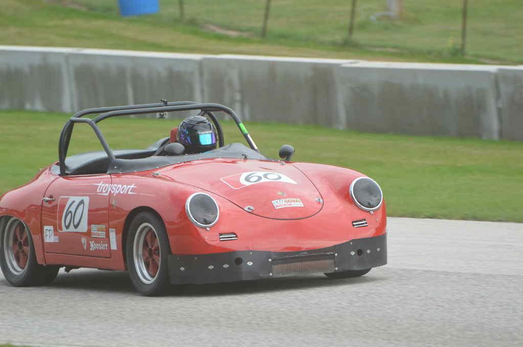 Porsche 356 Roadster at Road America