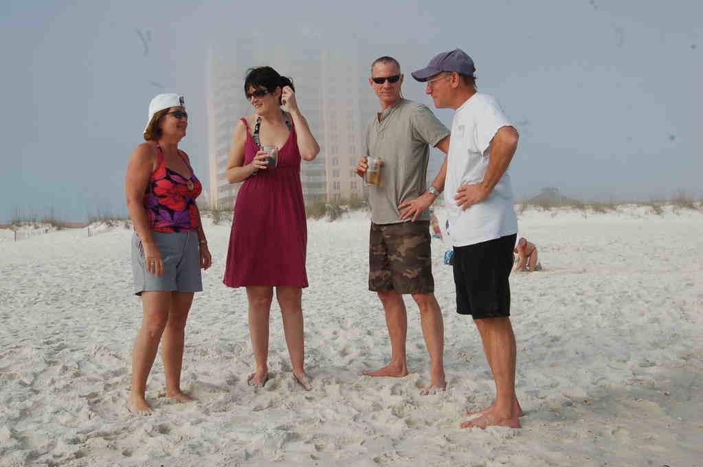 Friends on Pensacola Beach