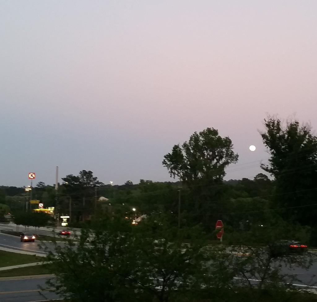 full Pink Moon 2
