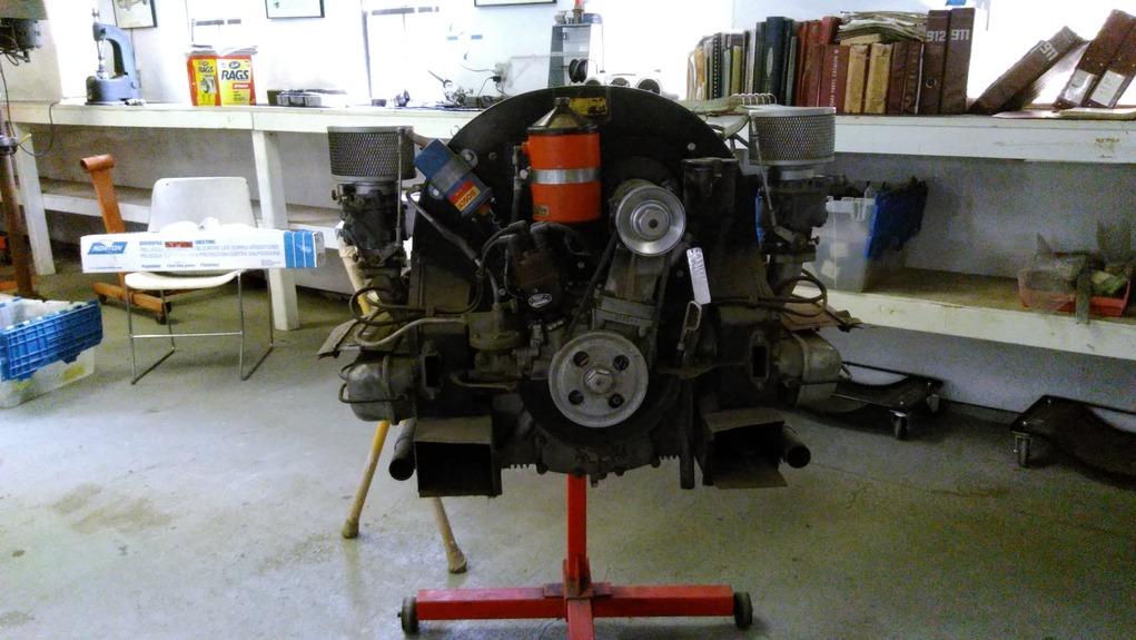 Porsche pre-a engine