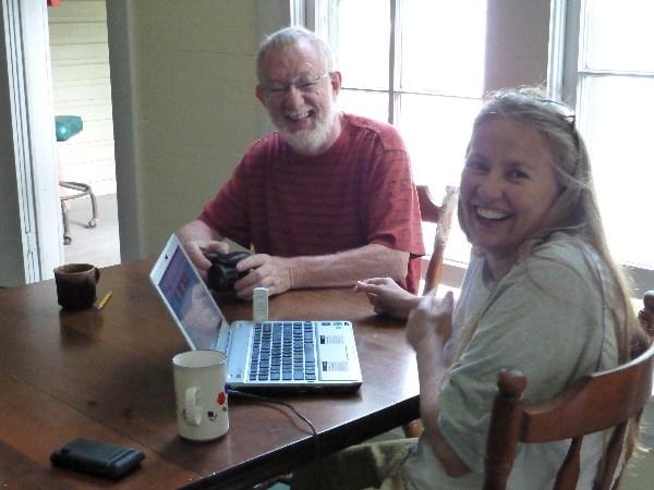 Pat and Margaret at Paula's
