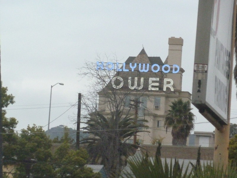 Hollywood Tower Sign