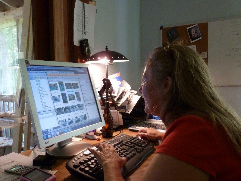 Margaret at Work