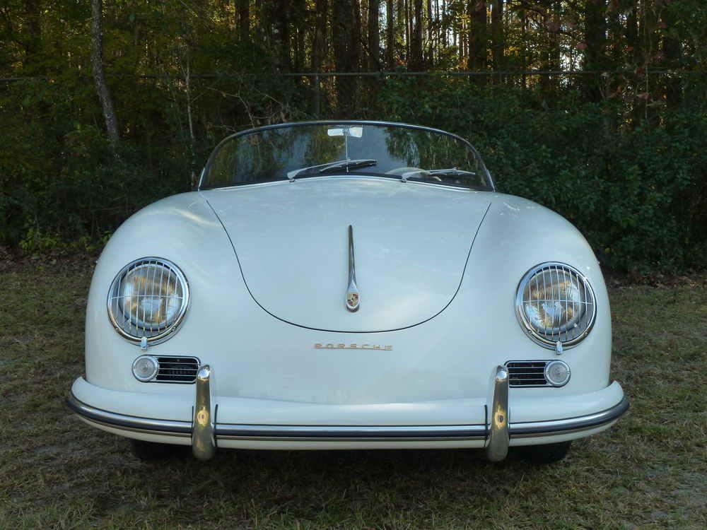 1954 Porsche 356 Speedster VIN 80029