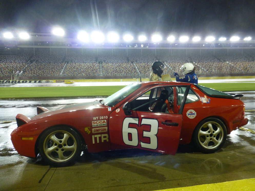 Porsche 944 at Charlotte Motor Speedway