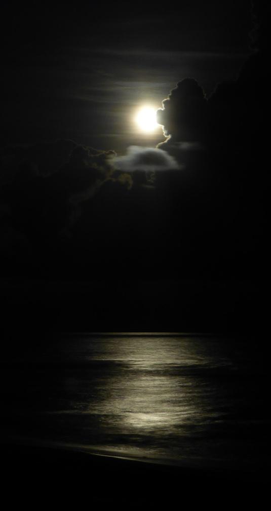 Blue Moon at St. George Island