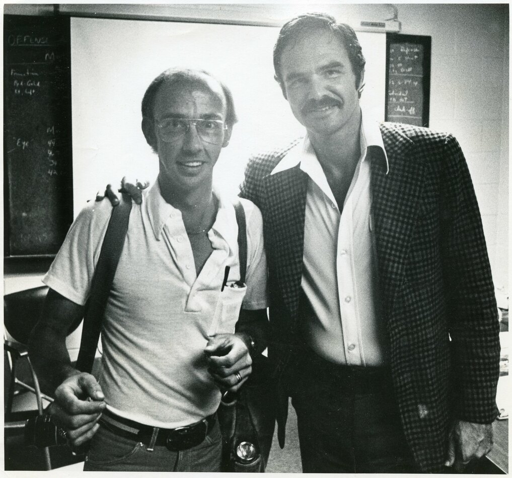 Earl Warren Jr. and Burt Reynolds