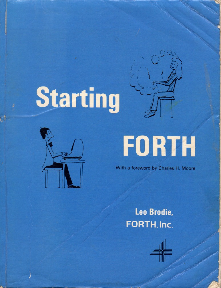 Scan of the cover of a book called: Starting Forth