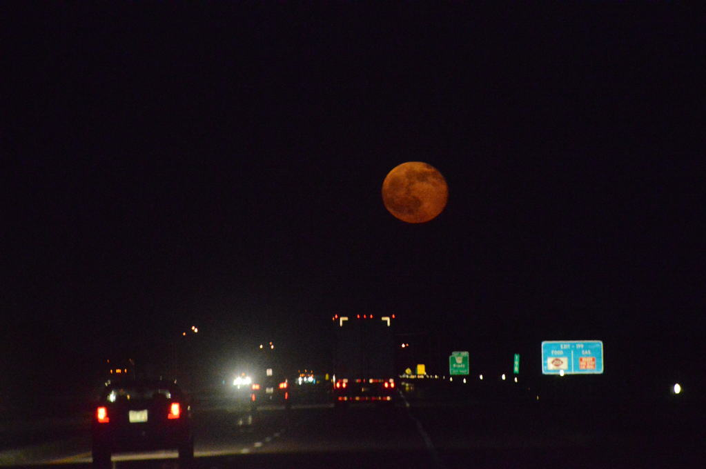 Full Moon and Friday the 13th