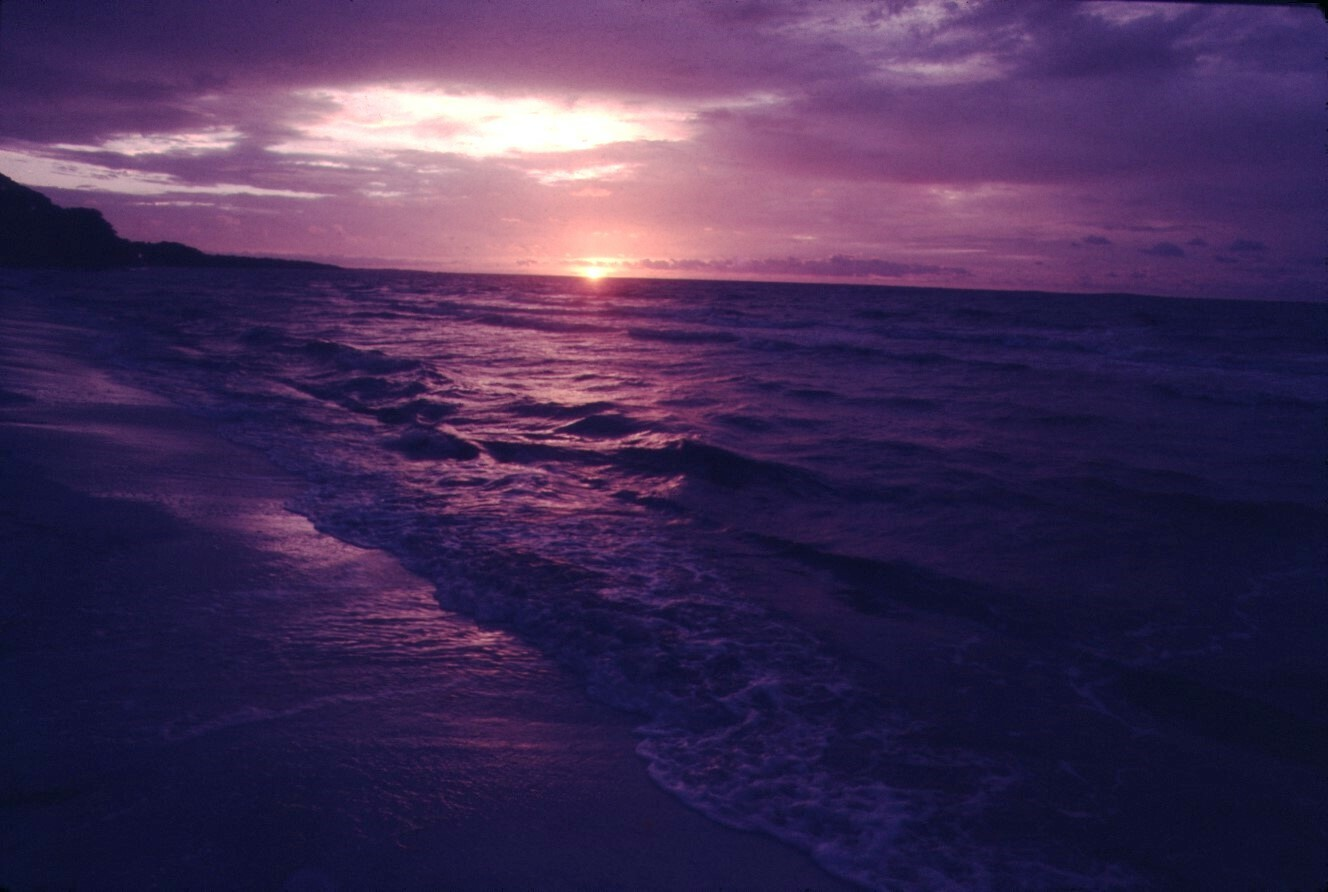 sunrise across the Gulf of Mexico