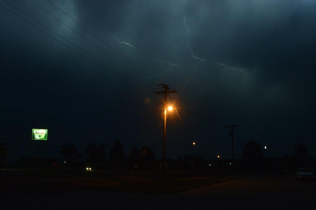 Western Kansas storm - June 11, 2014