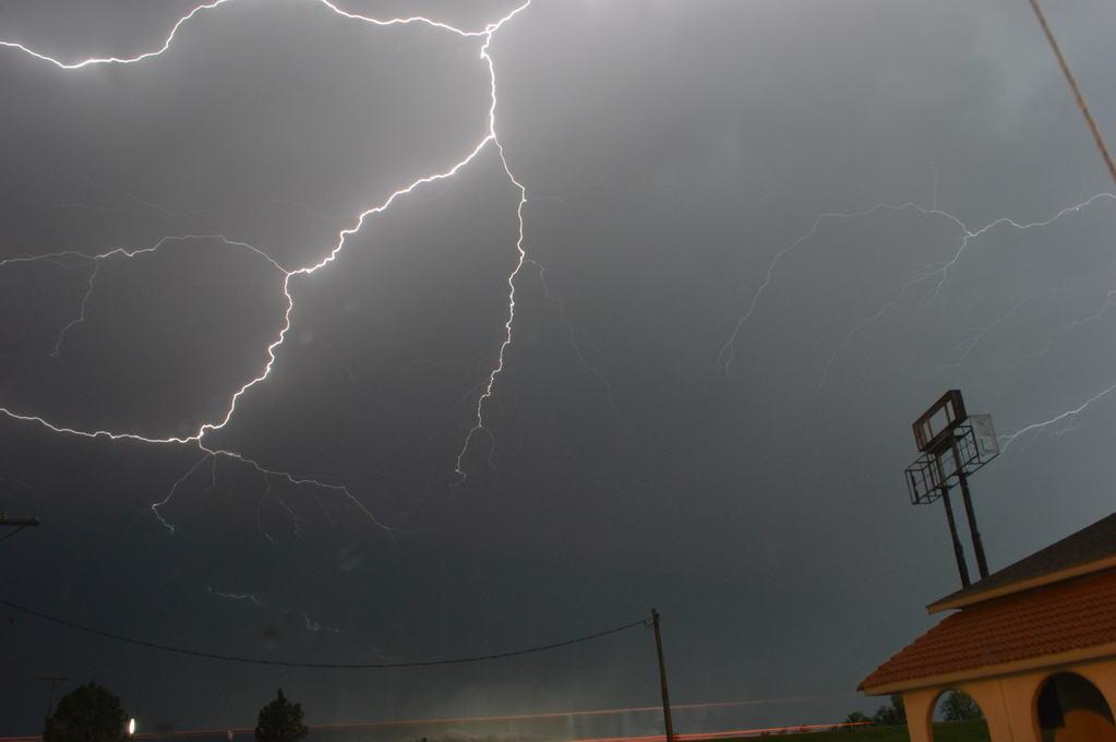 Lightning During a Storm over Kansas