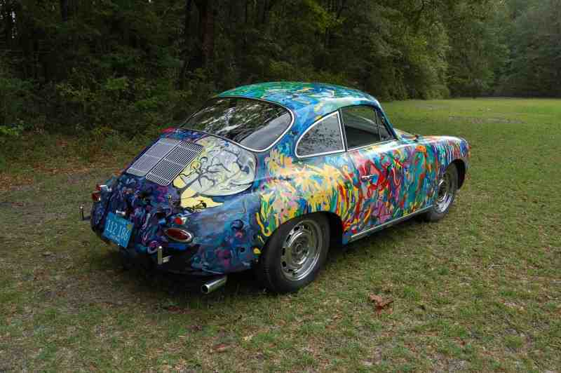 Hatha Petey - a Porsche Art Car