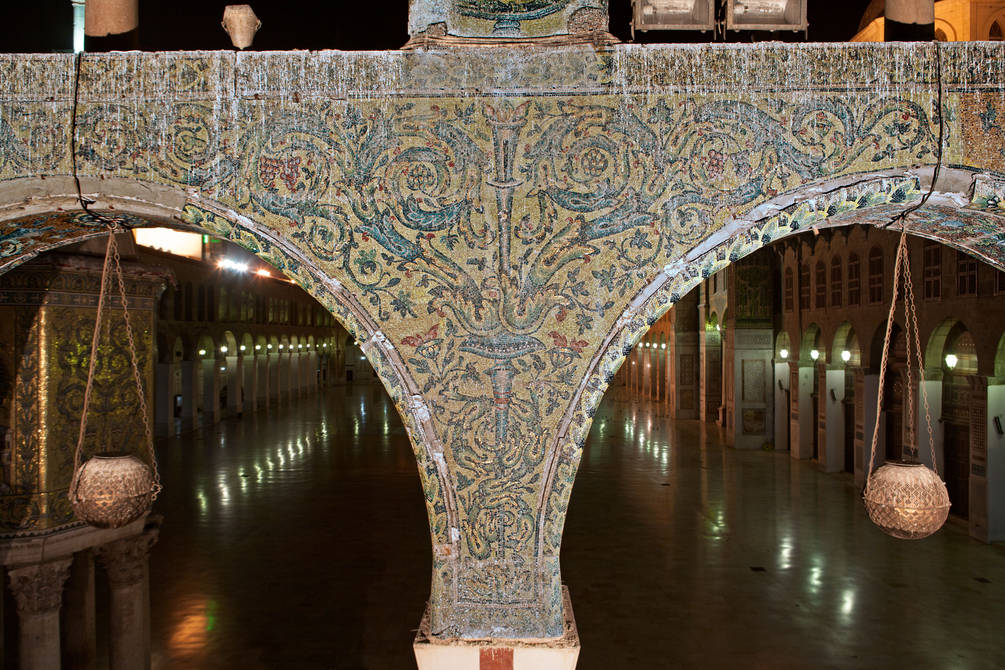 Mosaic Spandrel