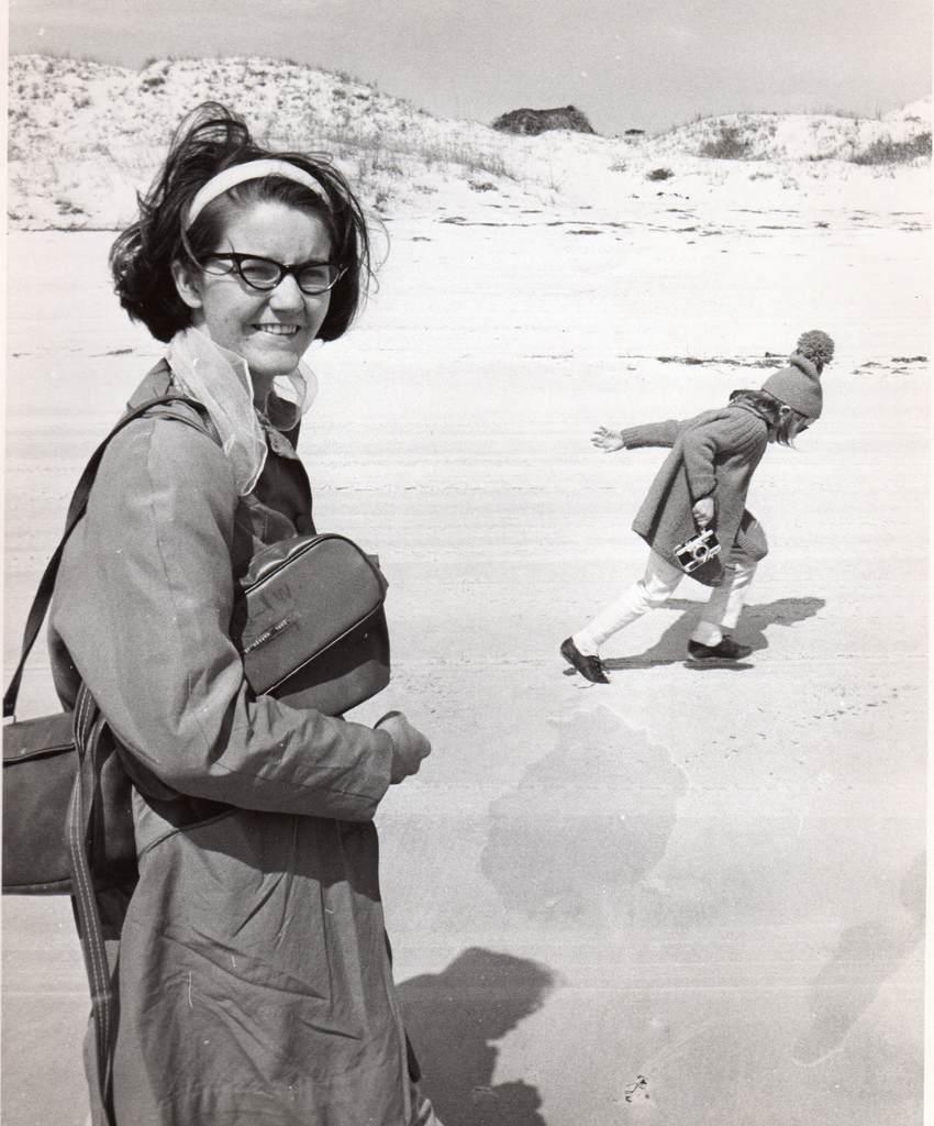 Suzanne Brown Warren and Margaret Warren