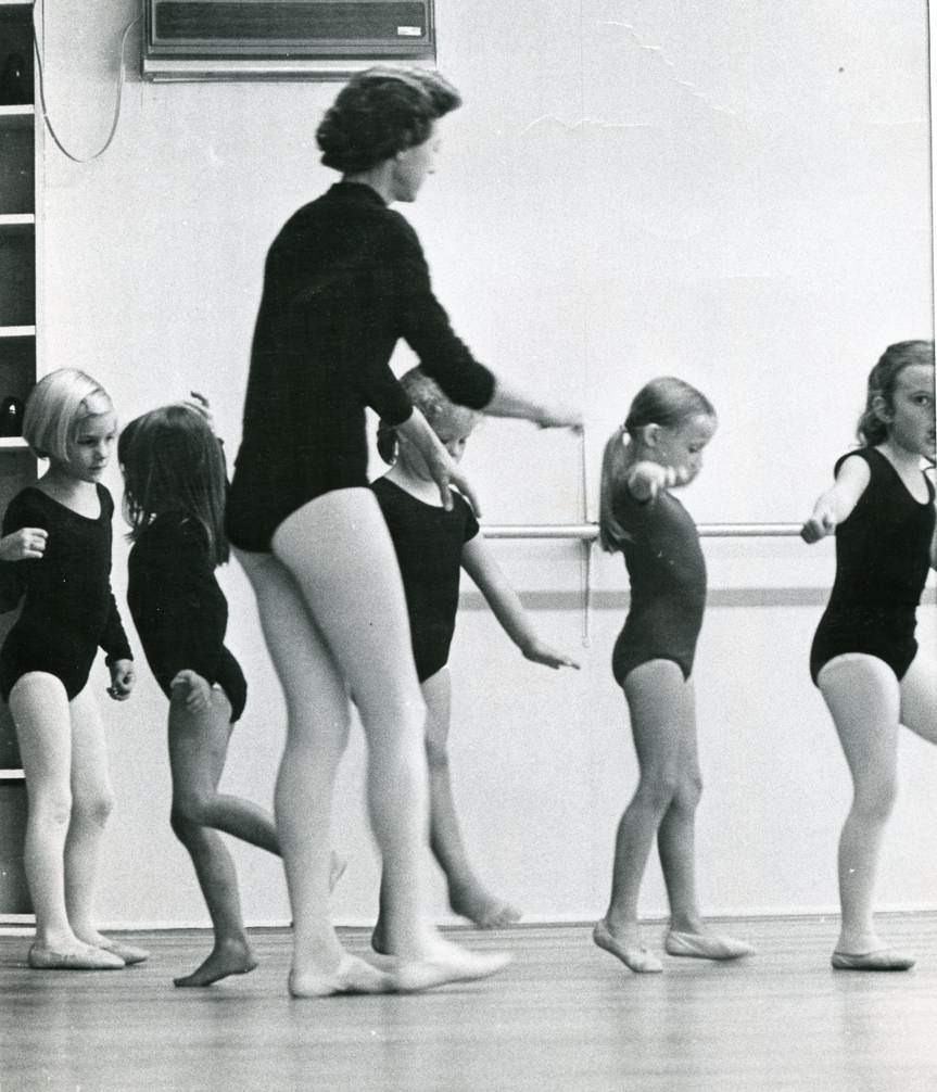 Dance students at Miss Salter's School of Dance