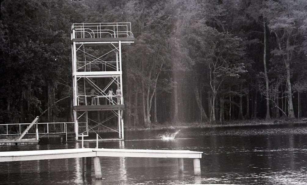 Diving Platform Wakulla Springs