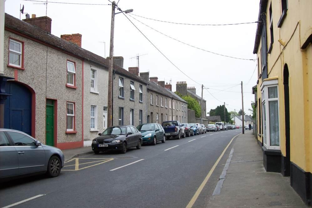 Street in Irish town