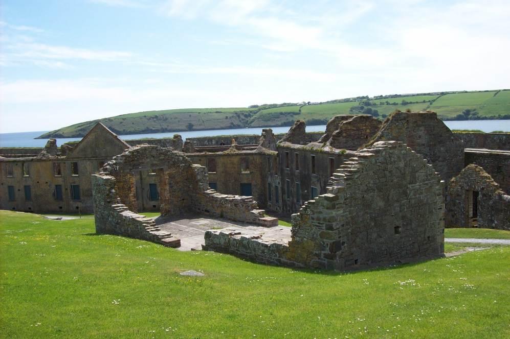 Ruins in Summer Cove