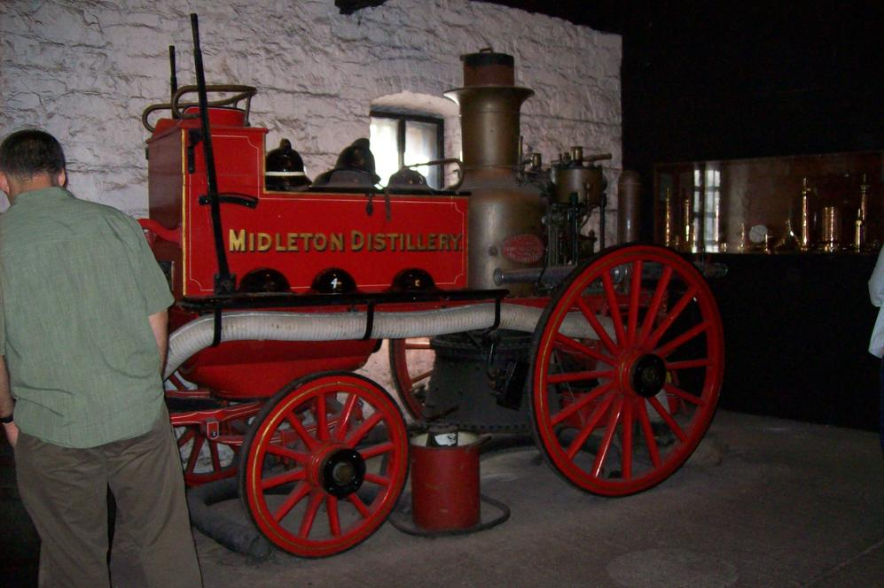A Steam Engine at the Distillery