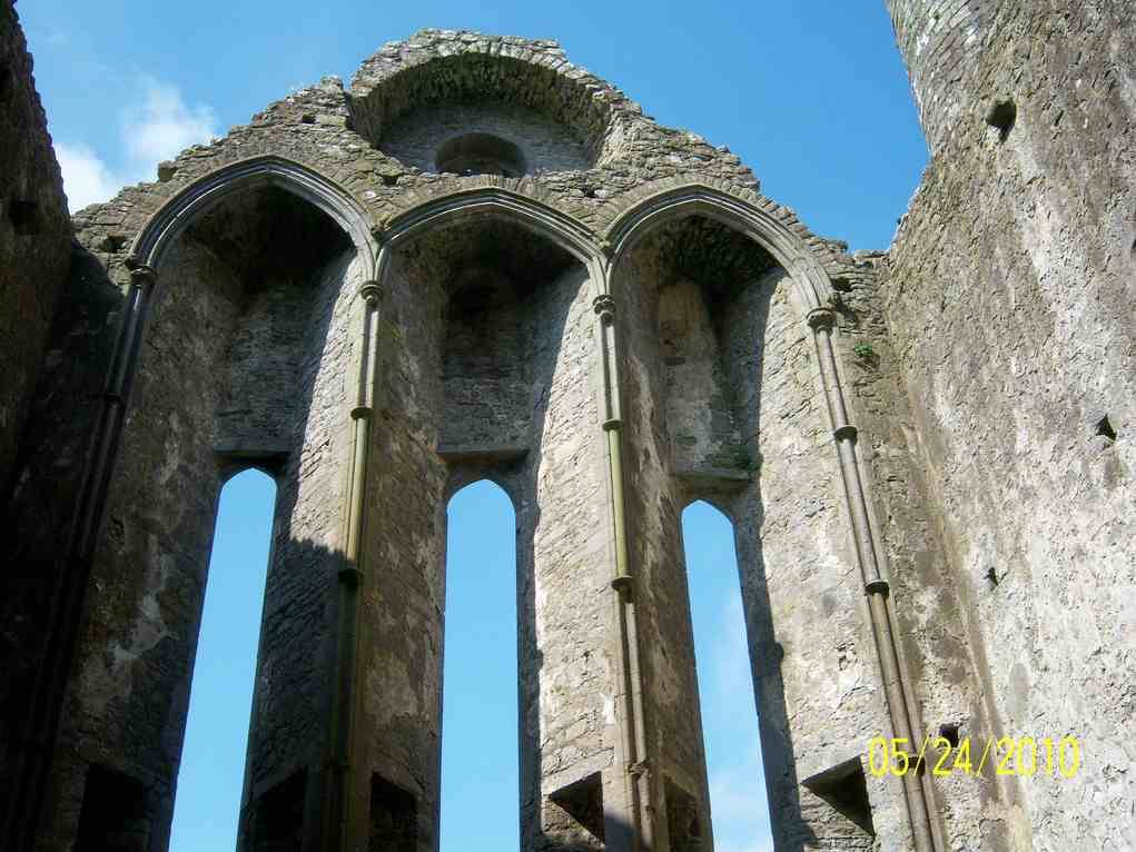 Ruin of Cathedral at Rock of Cashel