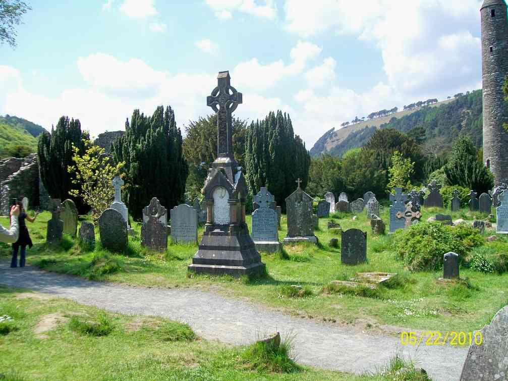 St Kevin's Monastery at Glendalough