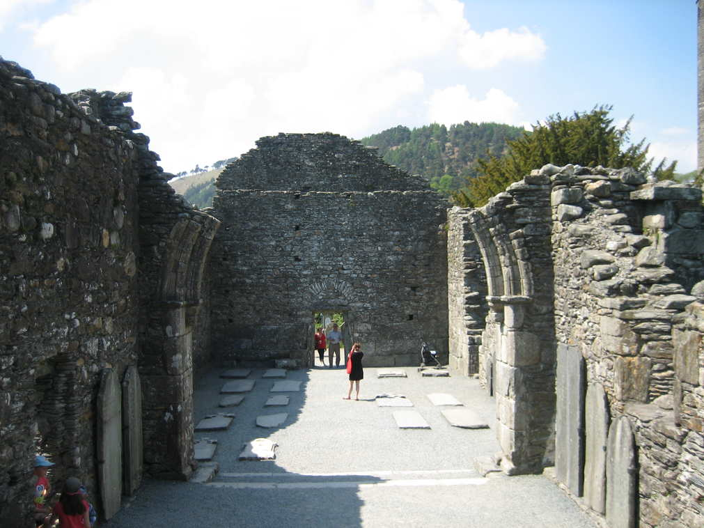 Ruined cathedral at Glendalough