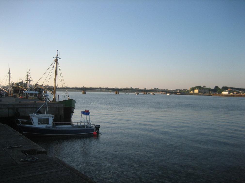 Sunset at Wexford Harbor Ireland