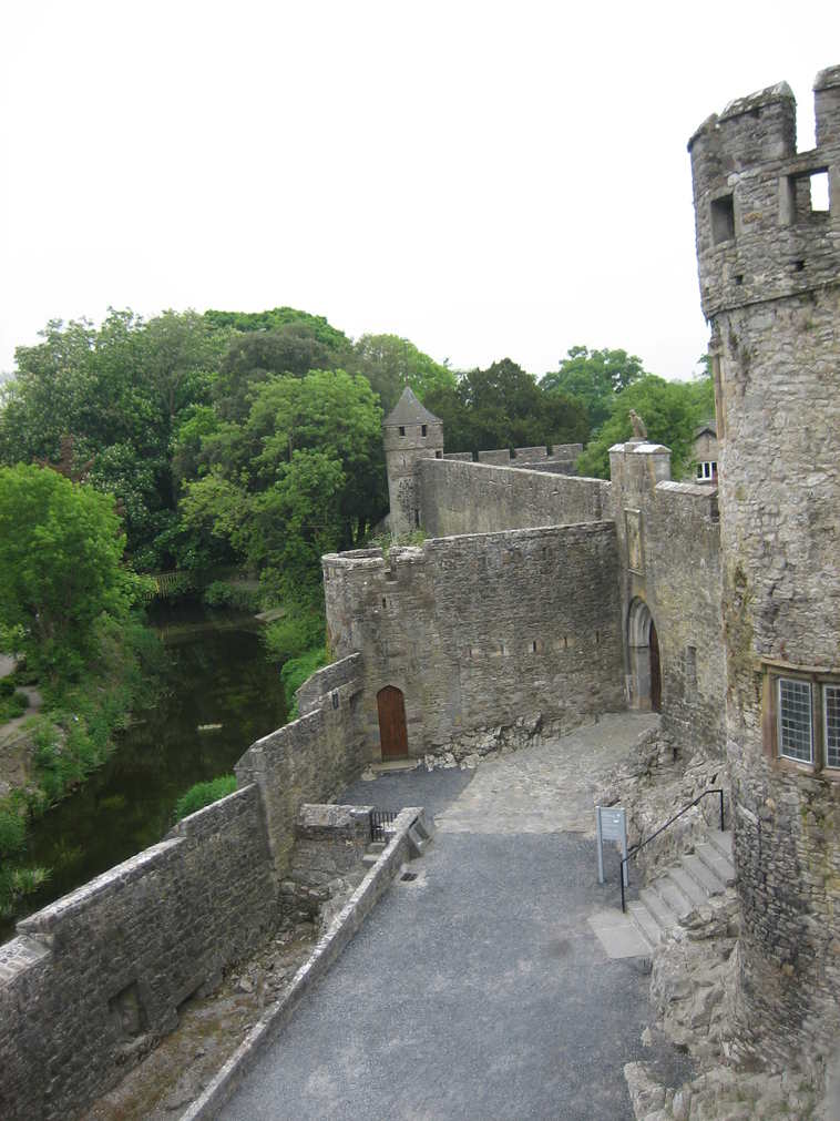 Entrance to Cahir Castle