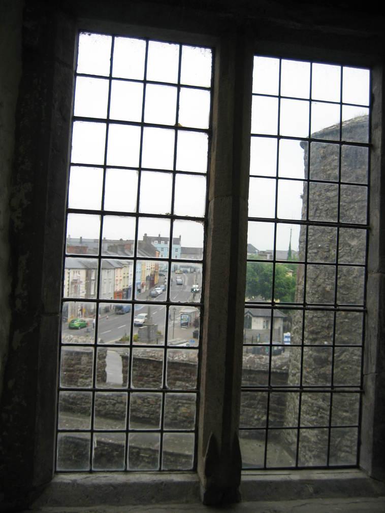 Town through a Window