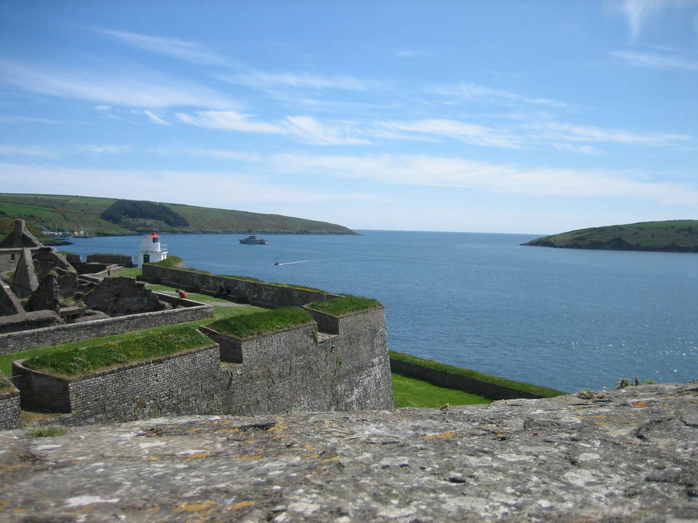 view from Charles Fort, Kinsale, Co Cork, Ireland