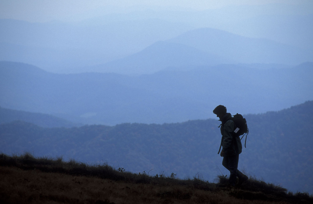 Mountain hiker - Roan Mt.