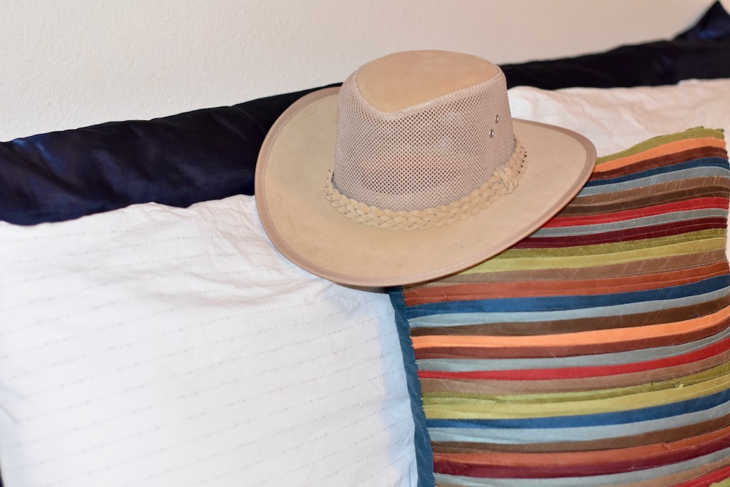 Hat and Pillows