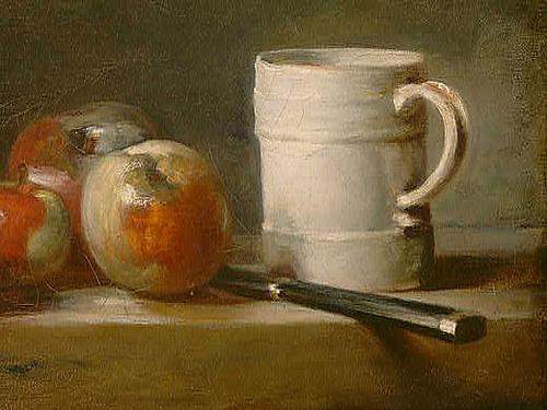Still Life with White Mug (detail)