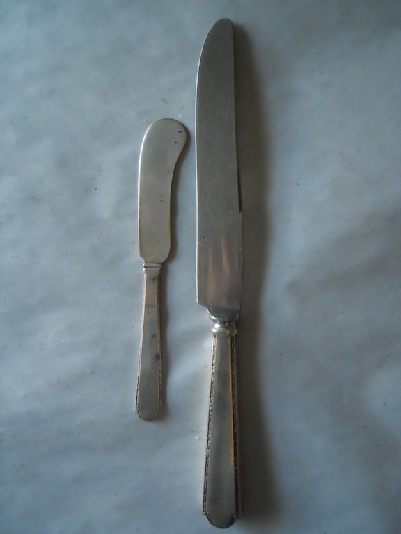 Sterling silver knives