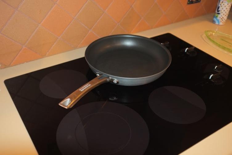Stove with pan