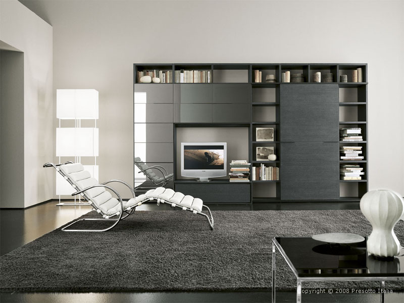 Modern living room of Sofia and Daniel