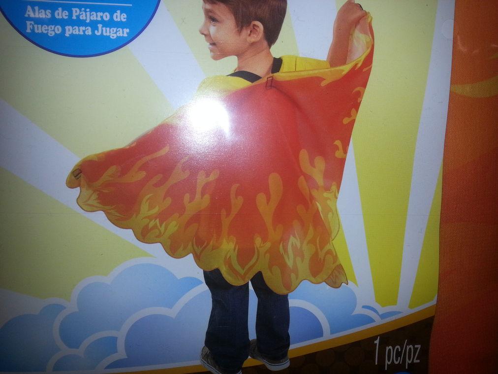flames costume