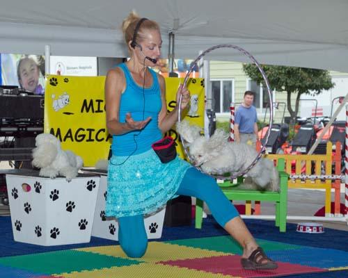 Blondie at the fair