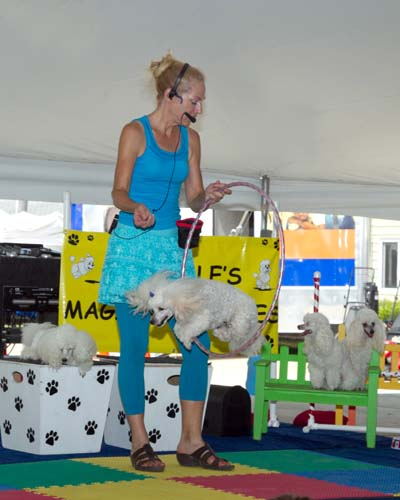 Hot day at the fair