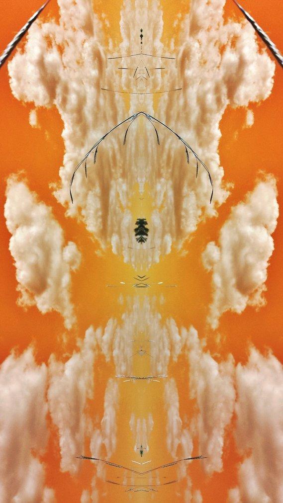 The god  of the orange skies.