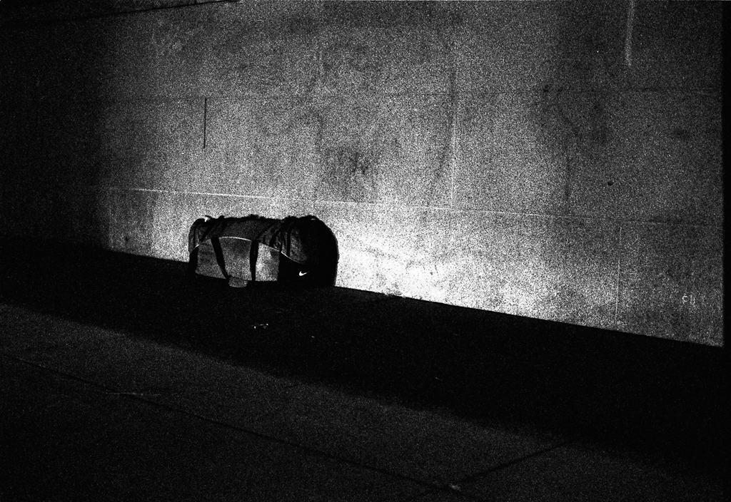 Bag on the wall