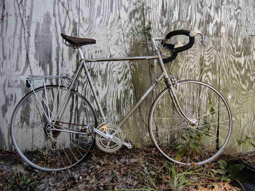 Full shot of Raleigh International Mens Bicycle.