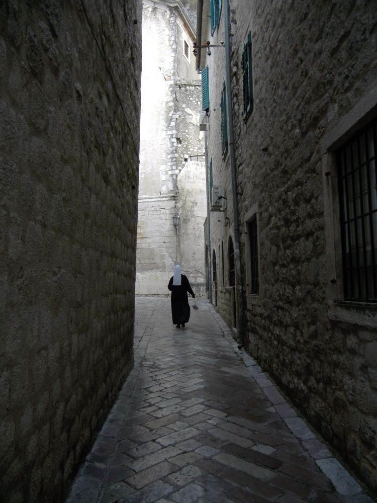 Nun in Kotor