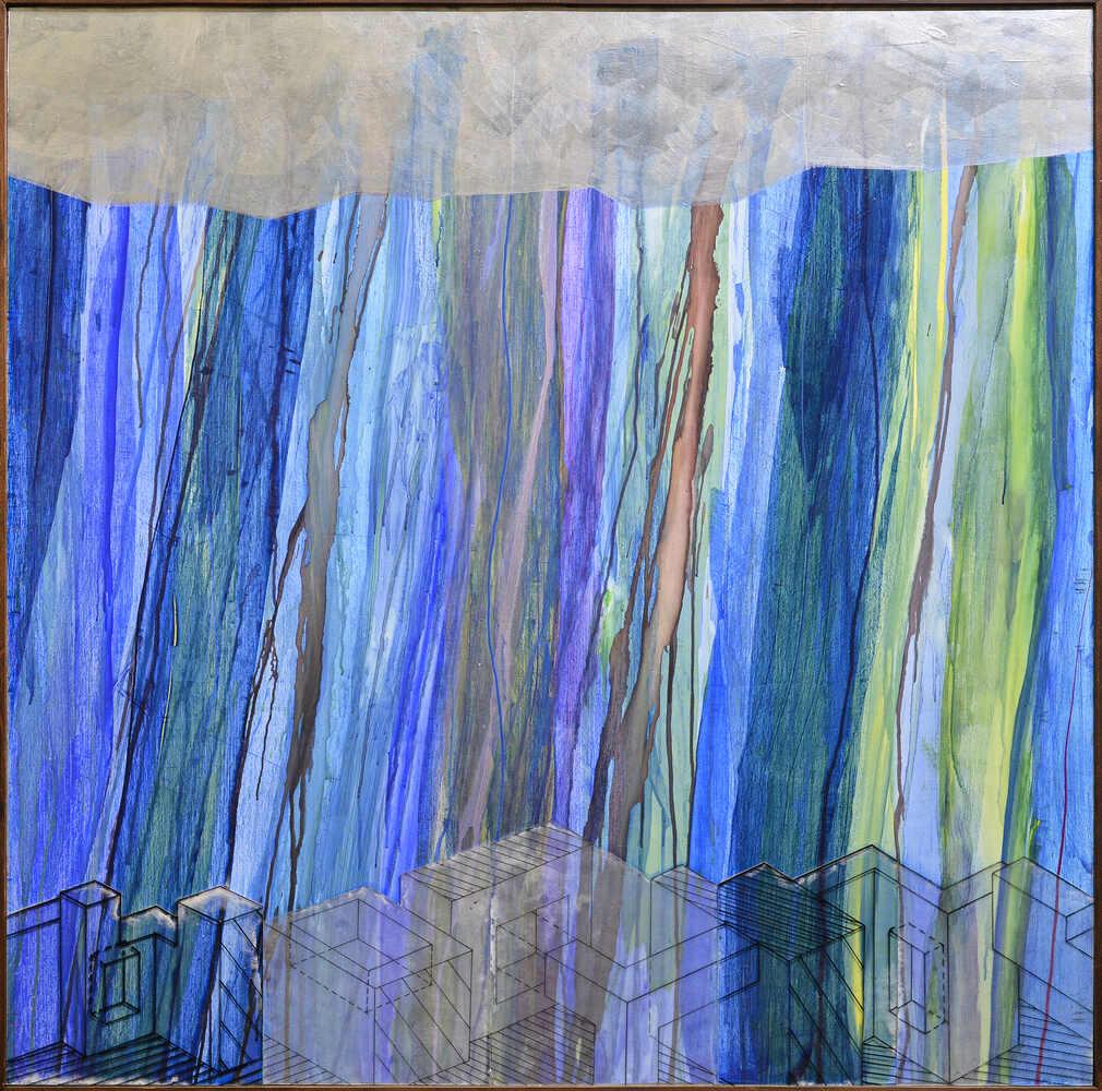 Isometric Rain