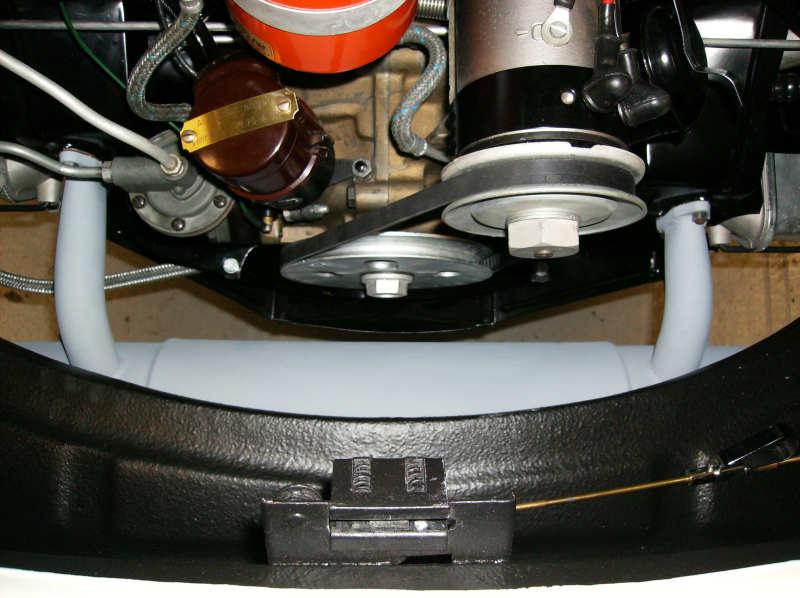 Porsche 356 Engine Detail