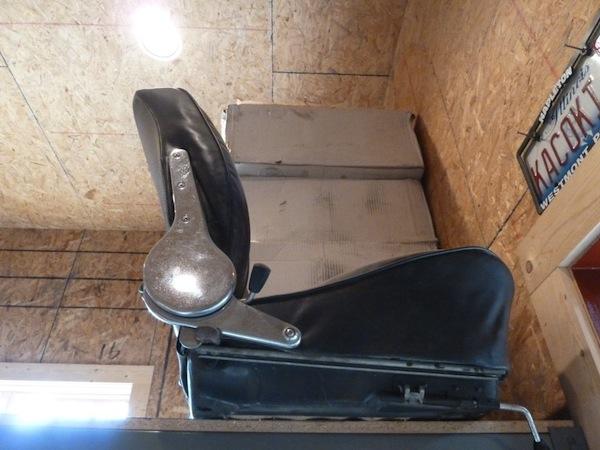 car seat -- from 1965 Porsche 356 SC